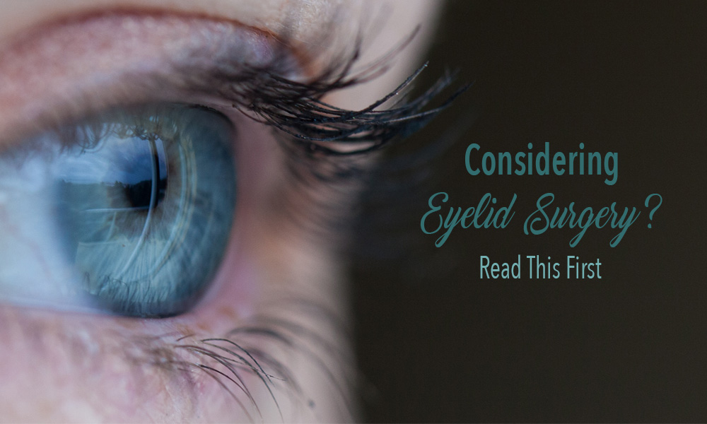 How to fix dropping eyelids.