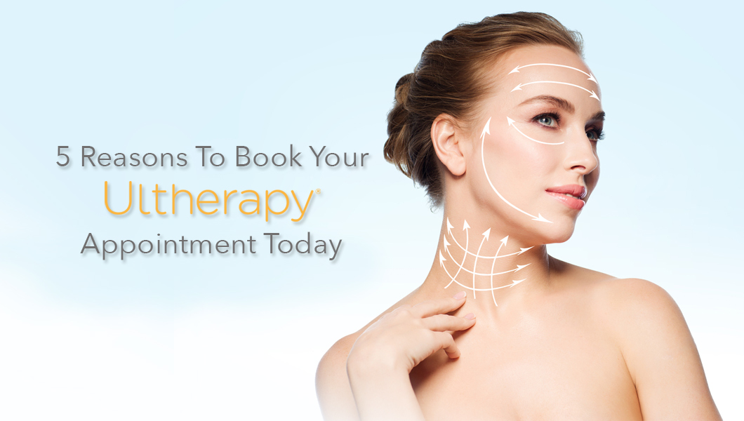 What is Ultherapy? Non-invasive skin tightening treatment at Dr. Teal's office in Fort Erie, ON.
